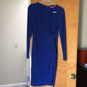 Catherine Malandrino royal blue dress